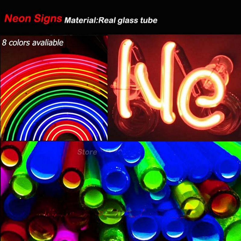 Neon Signs For Personalized Light Sign DO WHAT YOU LOVE Letrero Neon Bulbs Fantastic Artwork Beer Pub With Clear Board 24x15 - 2