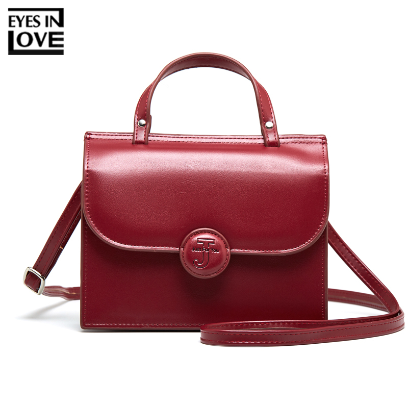 EYES IN LOVE Brand Designer Shoulder Bag For Women Handbag Ladies Mini Purse Female Small Crossbody Bag Women Messenger Bags Red teridiva women bags fashion brand famous designer mini shoulder bag woman chain crossbody bag messenger handbag bolso purse