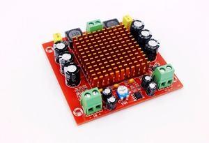 Image 1 - DC 12V 24V 150W TPA3116DA Mono Channel digital Power audio amplifier board