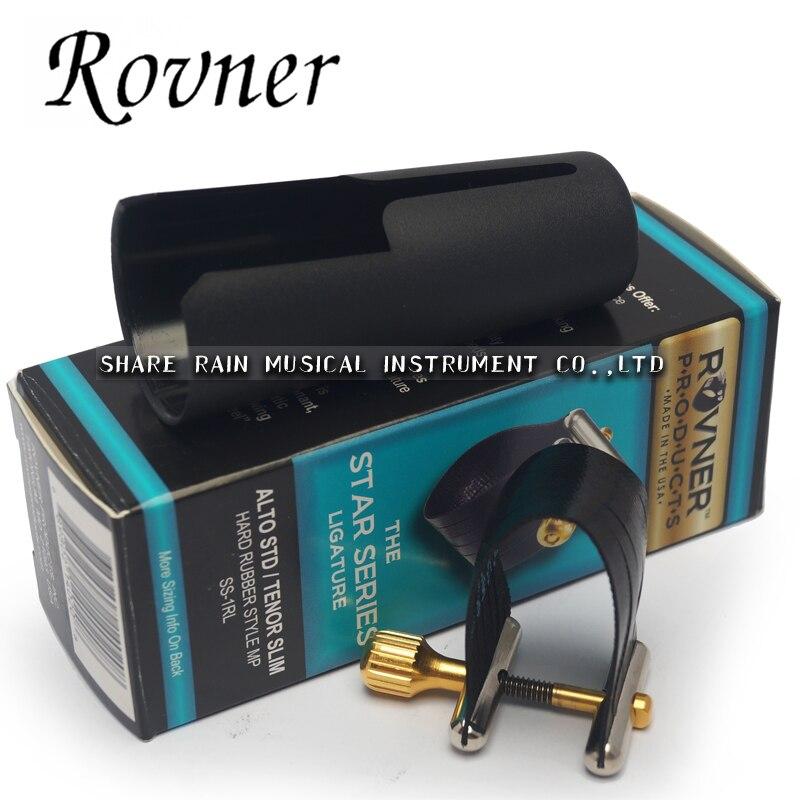 The  USA ROVNER SS 1RL alto sax bakelite Hard rubber mouthpiece /clarinet  mouthpiece ligature