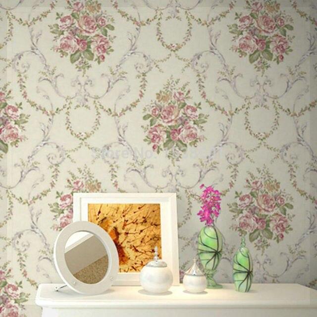 Bedroom Wallpaper Free Download Vintage Bedrooms For Girls Bedroom Athletics Ebay Zapped Zoeys Bedroom: Vintage Romantic Victorian Rose Flower Floral Scroll
