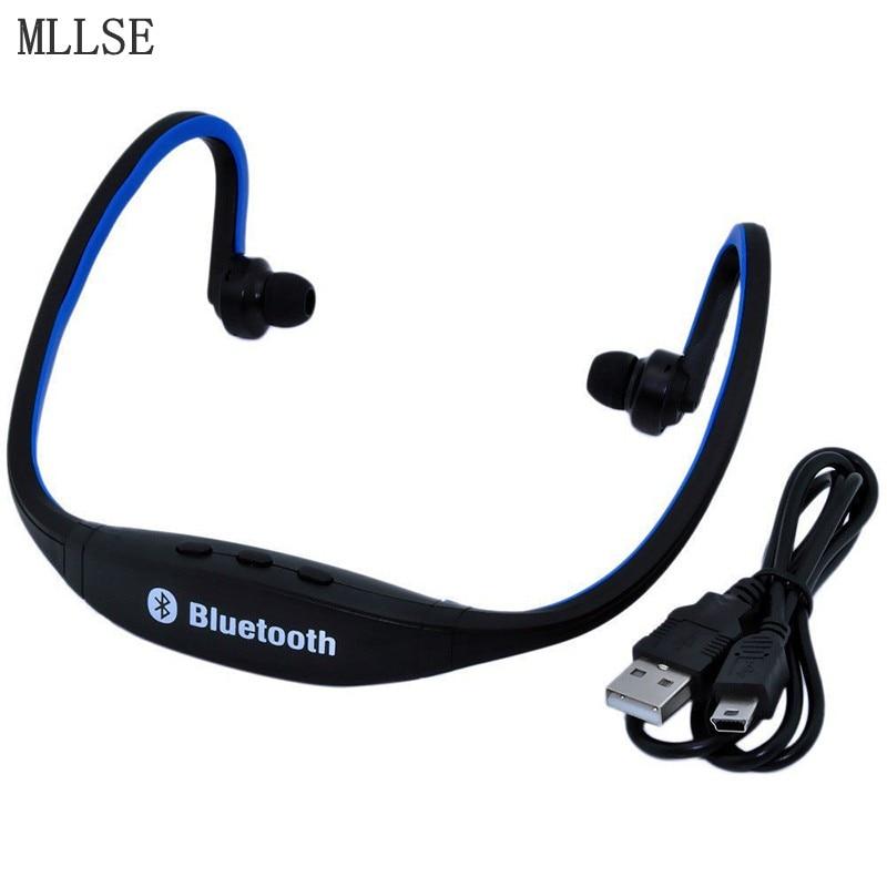 MLLSE S9 Neckband Bluetooth Headset Microphone Bluetooth Earphone/Headphones Sport Wireless Headphones for Mobile Phone Xiaomi