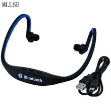 Mllse s9 neckband microfone fone de ouvido bluetooth bluetooth fone de ouvido/fones de ouvido esporte fones de ouvido sem fio para telefone celular xiaomi