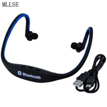 MLLSE S9 Neckband Bluetooth Headset Microphone Bluetooth Earphone Headphones Sport Wireless Headphones for Mobile Phone Xiaomi