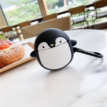 3D Funny Earphone Cases For Airpods 2 Case Silicone Bear Cute Cartoon Cover For Apple Air pods Case