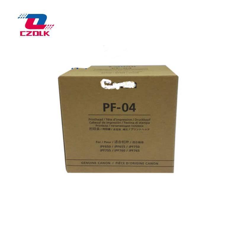 New Original(100%) PF-04 PF 04 printhead for Canon IPF650 IPF655 IPF680 IPF681 IPF685 IPF686 IPF750 IPF755 IPF760 Printer Head original new printhead pf 03 for canon ipf 5000 6000 5100 6100 8010s 8000 8000s 700 710 610 600 9010s 9110 9000s printer head