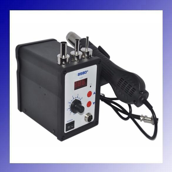 New 700W 858D ESD Soldering Station LED Digital SMD Solder Blowser Hot Air font b Gun