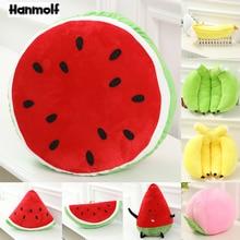 Chair Peach Watermelon Pillow-Shop Banana Decorative Fruits-Toy Doll-Lifelike Stuffed