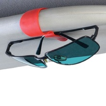 2Pcs lot Eye Glasses Card Pen Holder Clip car styling car accessories Sun Visor Sunglasses for