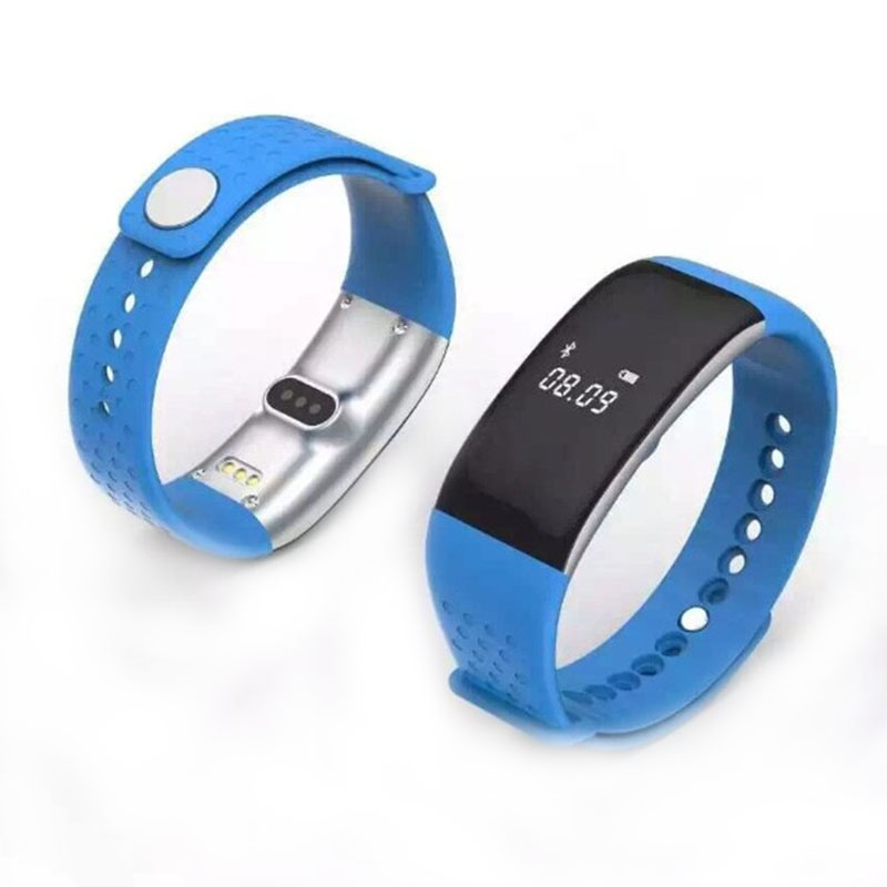 S1 Bluetooth font b Smart b font Band Heart Rate Monitor Blood Oxygen Wristband Fitness Tracker