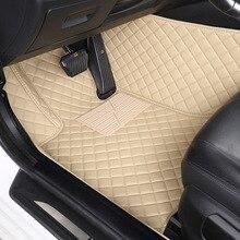 цена на HLFNTF Custom car floor mats For Chevrolet cruze aveo captiva lacetti Sail Malibu Automatic TRAX LOVA car accessorie carpet