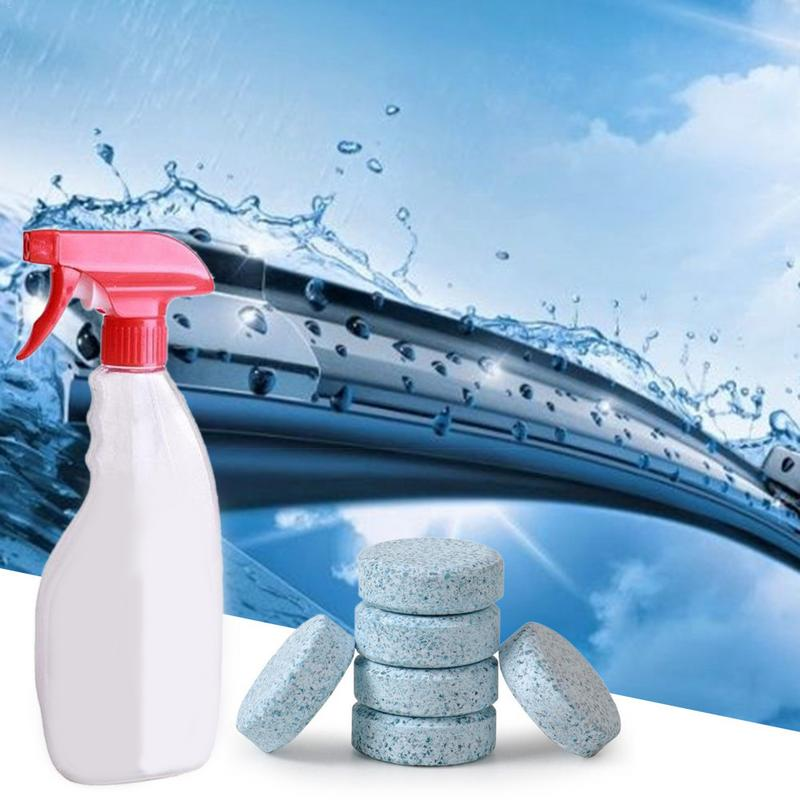1 5 10PC Multifunctional Effervescent Spray Cleaner bottle Set Car Cleaning Concentrate Home Cleaning Tool Cleaning