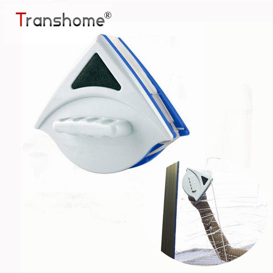 Doppelseitige Magnetband Reinigung Fenster Pinsel Dreieck magnetische Glasreiniger pinselreiniger (5-12mm) Reinigungswerkzeuge
