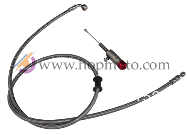 Hydraulic Clutch oil hose with master cylinder pump refitting for dirt bike/pit bike use