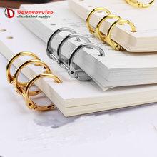 10 шт/лот кольца переплетные с металлическим покрытием для книг