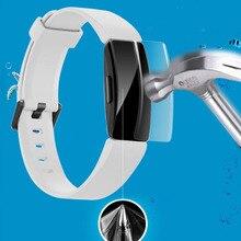 TPU מסך Protetcor נגד שריטות סרט עבור Fitbit Inspire/Inspire Hr חכם להקת אולטרה דק HD מלא מסך מגן סרט