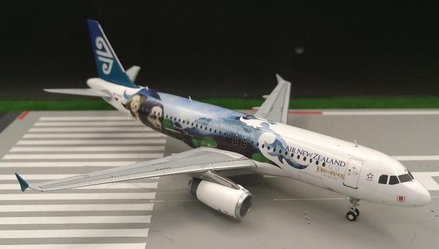 JW 1: 200 Airbus A320 de aleación modelo de aeronave de Air New Zealand Limited Collector Modelo