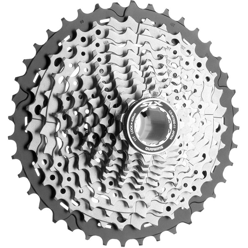 SHIMANO SLX CS M7000 11S Speed 11-42T bike Cassette Freewheel for MTB Bicycle Part shimano cs hg41 acera 8 speed cassette for mountain bike bicycle