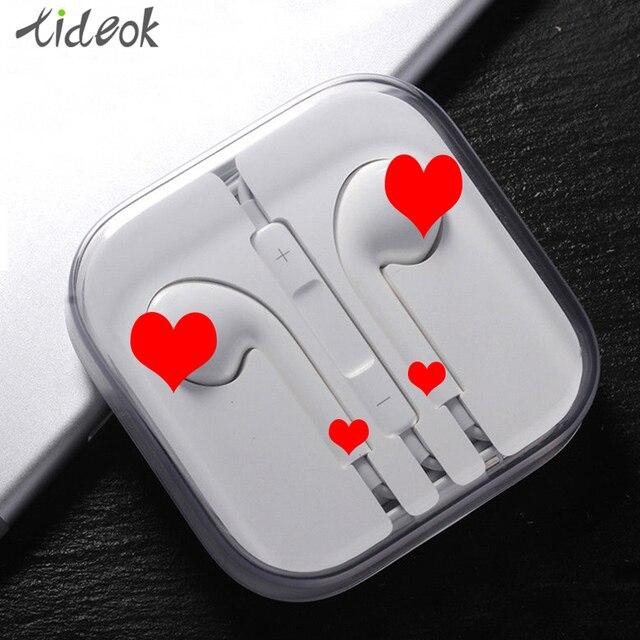 Проводные наушники высокого качества, наушники со встроенным микрофоном 3,5 мм, музыкальные стереонаушники для iPhone Xiaomi