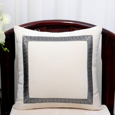 Высококлассное роскошное кружевное бархатное покрытие для подушки Чехол Рождественская Подушка Чехлы для дивана стула декоративная наволочка Подушка - Цвет: Белый