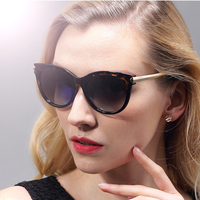 Classic TR90 Retro Oversize Sun Glasses Polarized Mirror Cat Eye Ladies Luxury Women S Sunglasses Eyewear