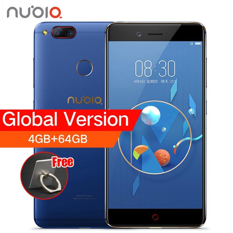 ZTE Nubia Z17 Mini Dual cámara trasera Smartphone 4 GB/6 GB RAM 64 GB ROM 5,2 pulgadas Snapdragon 652 MSM8976 tarjetas SIM Dual del teléfono móvil