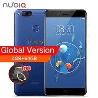 ZTE Nubia Z17 Mini Kép Trở Lại Máy Ảnh Smartphone 4 GB/6 GB RAM 64 GB ROM 5.2 inch Snapdragon 652 MSM8976 Dual SIM Cards Mobile điện thoại
