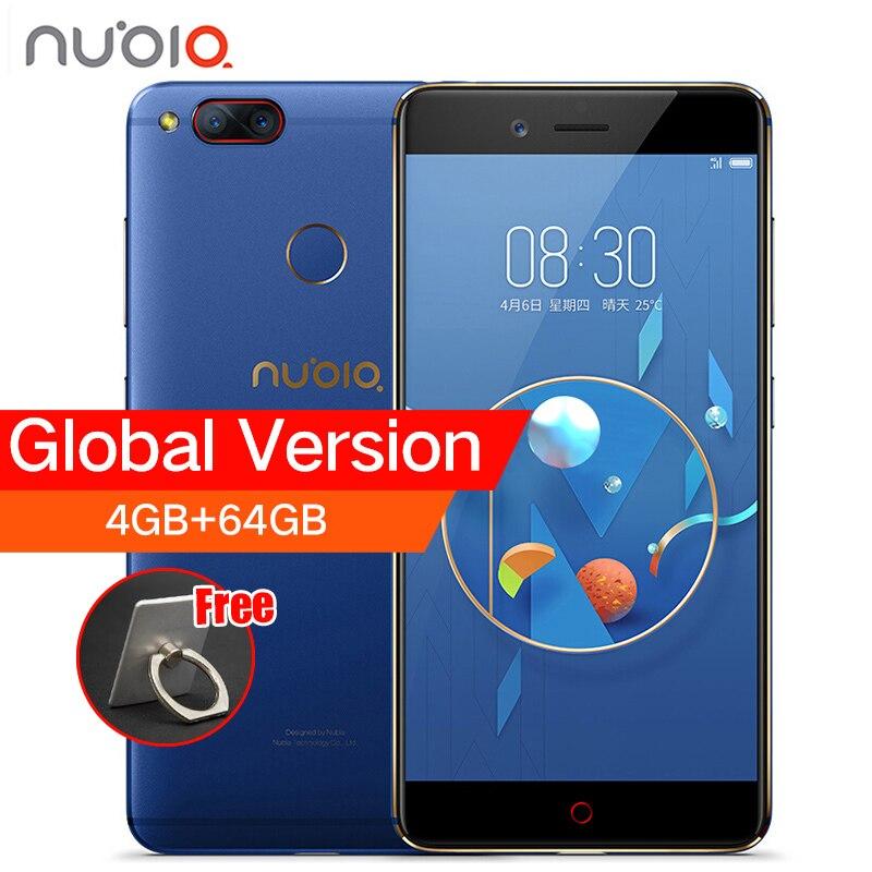 ZTE Nubia Z17 Mini de Volta Dupla Câmera do Smartphone 4 GB/6 GB de RAM 64 GB ROM 5.2 polegadas Snapdragon 652 MSM8976 Cartões Dual SIM Celular telefone