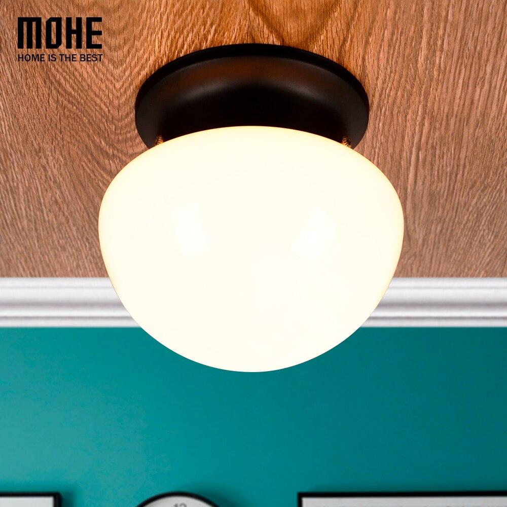 Plafonniers américains ASCELINA LOFT Vintage industriel réglable led plafonnier lampes d'éclairage domestique salon E27 85-260 V