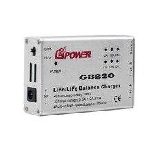 Velocidade de Carga Da Bateria Lipo Balance Charger G3220 portátil Adaptador para Parrot Ar Drone 2.0/1.0