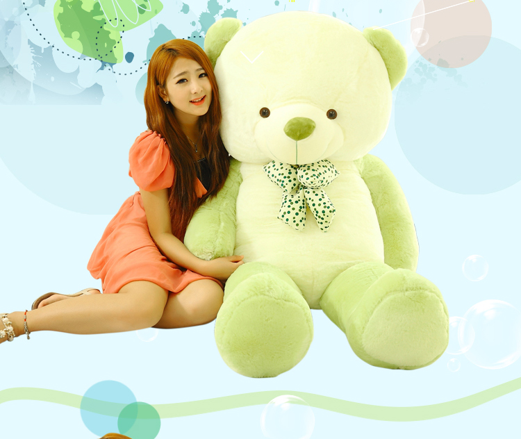 high quality goods large 160cm bear plush toy ,soft hugging pillow.birthday gift 2634 mcd200 16io1 [west] quality goods
