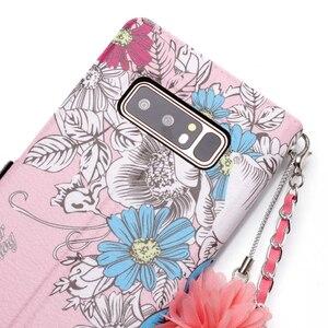 Image 4 - Chuỗi dây đeo Da Lật Wallet Điện Thoại Silicone Mềm Trường Hợp Bìa Shell Đứng đối với Samsung Galaxy A3 A5 2017 J330 J530 j730 EU Note8