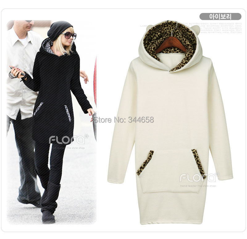 2014 new Women Hoodie Sweatshirt Coat Hooded Outerwear Tops Pullover sales well - The only design studio store