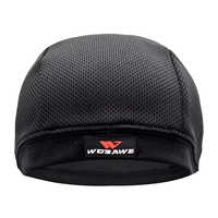 WOSAWE malla transpirable para hombre casco de motocicleta gorros interiores antisudor sombrero fino Motocross Racing Ski bajo casco gorras con forro