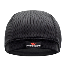WOSAWE Breathable Mesh Mens Motorcycle Helmet Inner Caps Anti-Sweat Hat Thin Motocross Racing Ski Under Lining