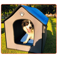 Soft Big Dog Houses Pets Sponge outdoor House Dog Detachable kennel Nest Portable and Great for Transportation and Short outings