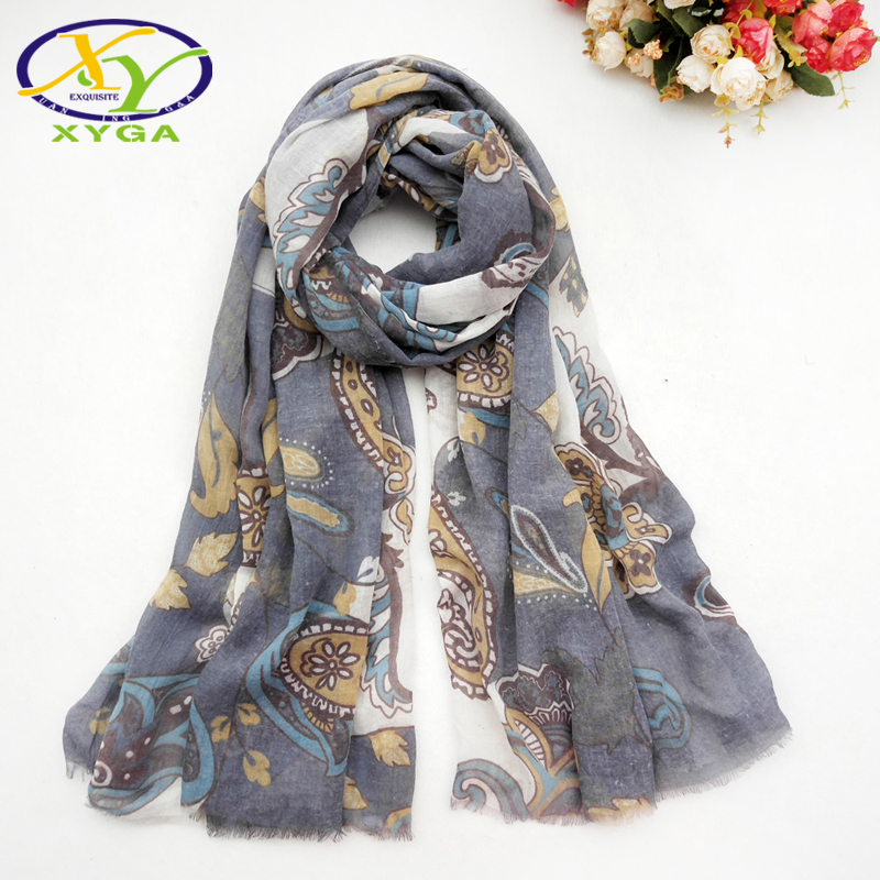 Women Cotton Long Scarves Spring Lady's Shawls Thin Summer Ethnic Style Female Wraps Muslim Head Kerchief Scarves Autumn