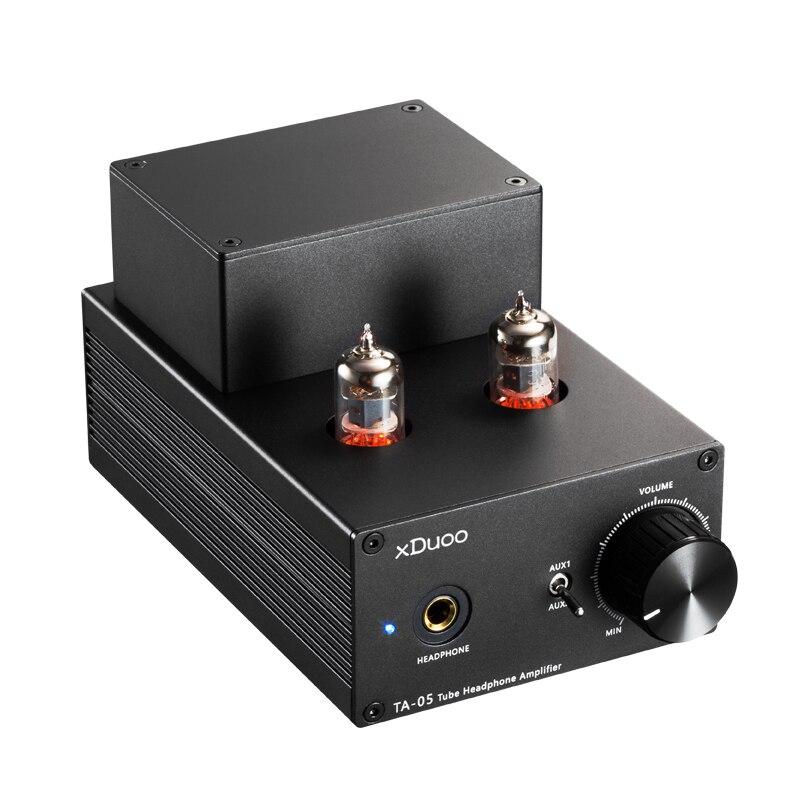XDuoo TA-05 TA05 HiFi AUDIO stéréo Tube amplificateur casque amplificateur 2x 6J1 & ST 772/882 Transistors amplificateur de bureau