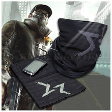 Watch Dogs Aiden Pearce Face MASK Neck Warmer Video Game Cosplay Scarf Costume mask Free shipping(China)