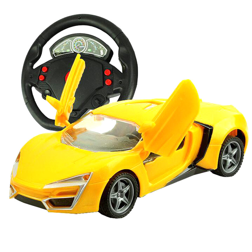 High Quality Remote Control Cars Mini RC Toy Cars with Special Steering Wheel Shape Remote Control Retail Box