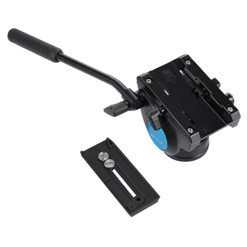 PULUZ Video Tripod Head &Quick Release Sliding Plate for DSLR & SLR Cameras Head for Monopod Tripod Slider Video Film Shoot