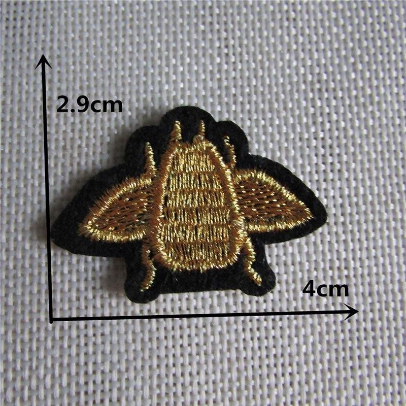 Мультяшная декоративная заплатка, сердце, дерево, Бабочка, узор, вышитая аппликация, нашивки для DIY, железные наклейки на одежду - Цвет: C778