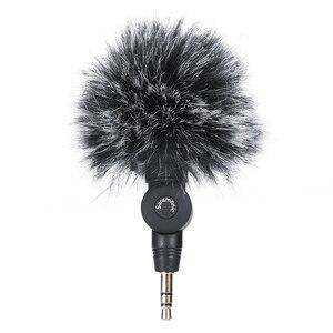 Image 1 - Micrófono peludo para exteriores, parabrisas para micrófono de SR XM1 saramónico