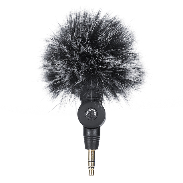 Micrófono peludo para exteriores, parabrisas para micrófono de SR XM1 saramónico