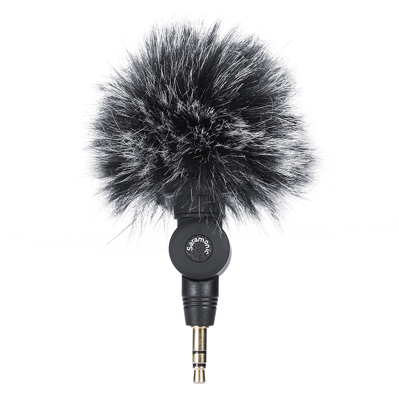 Outdoor Furry Microphone Muff Windshield For Saramonic SR-XM1 Microphone