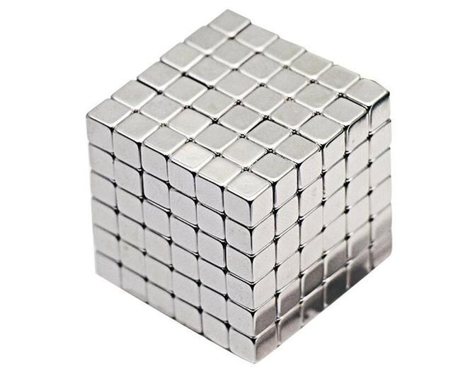 4mm/5mm Dos Tamaño 216 unids Bolas Magnéticas Del Cubo 6*6*6 Grado N35 Neodimio Imán Del Rompecabezas Del Cubo Mágico Juguetes educativos Regalo