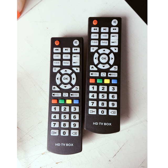 US $16 24 20% OFF|5 Pcs/lot Universal Arabic iptv Remote Control Controller  For arabic iptv box / indian iptv box-in Remote Controls from Consumer
