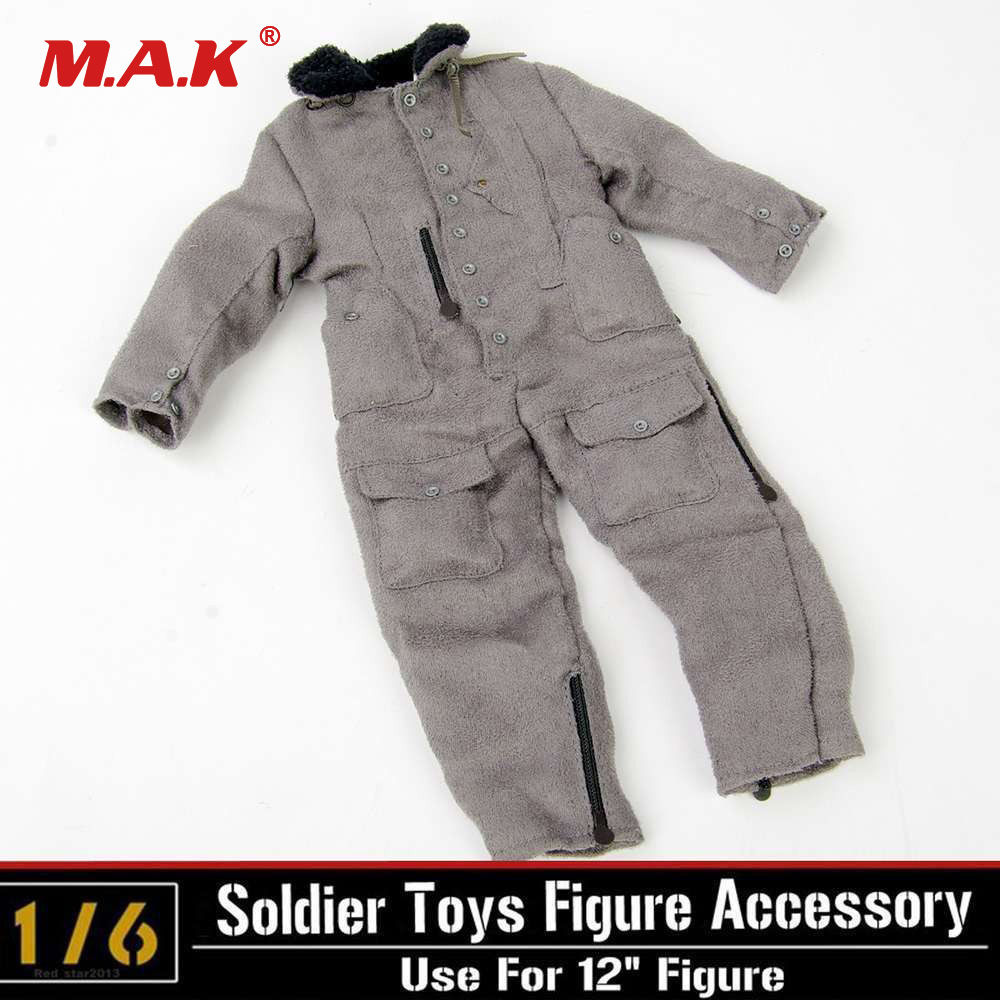 1/6 Scale Male Figure Soldiers Clothing model Jumpsuits fit 12 Man Action Figure Dolls
