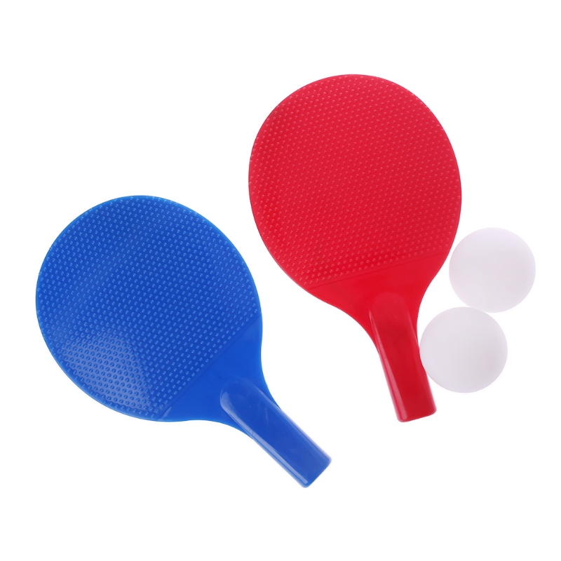 1Set Hot Plastic Table Tennis Racket Kids Children Toys Fitness Entertainment Ping Pong Paddle Table Tennis Supplies