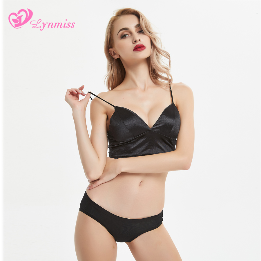 2019 New Lynmiss Fashion Sexy Underwear Women Set Lingerie Seamless Breathable Women Sexy Erotic Lingerie Women Underwear Set